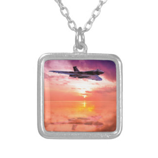 Vulcan Dawn Silver Plated Necklace