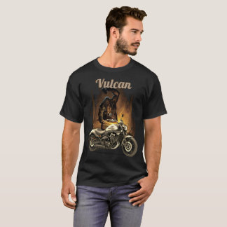 Vulcan the Forger motorcycle design T-Shirt