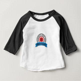 vulgarity free zone baby T-Shirt