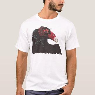Vulture Head Pointillism T-Shirt