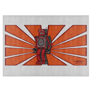 Vulture Kulture® Robot Cutting Board