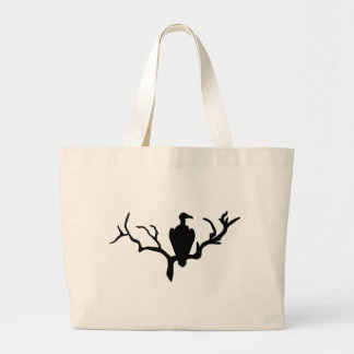Vulture Large Tote Bag