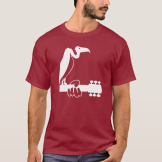 Vulture on a guitar neck T-Shirt