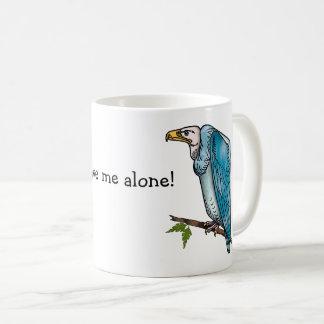 Vulture Says Leave Me Alone Coffee Mug
