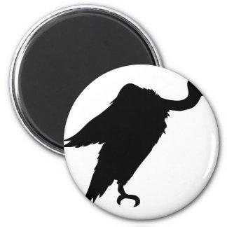 Vulture Sitting Magnet
