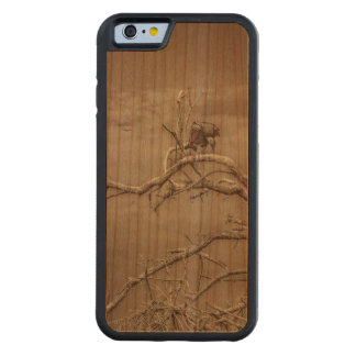 Vultures at Top of Leaveless Tree Carved Cherry iPhone 6 Bumper Case