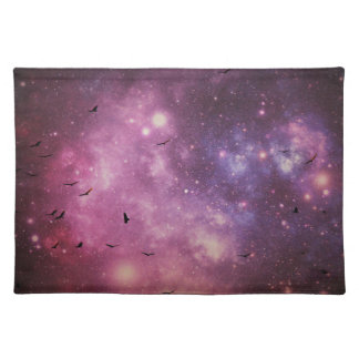 vultures in outerspace placemat