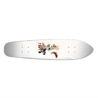 Vultures old school 21.6 cm old school skateboard deck