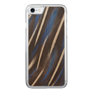 Vulturine Guineafowl feather Carved iPhone 7 Case
