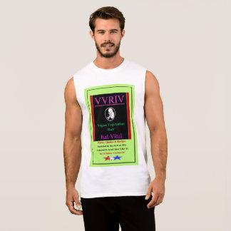 VVRIV Vegan Vegetarian Raw Ital Vital Sleeveless Shirt