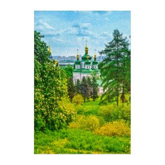 Vydubitsky Monastery. Kiev, Ukraine Acrylic Print