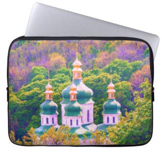 Vydubitsky Monastery. Kiev, Ukraine Laptop Sleeve