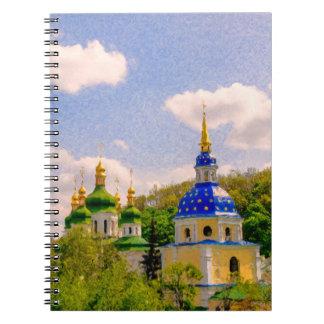 Vydubitsky Monastery. Kiev, Ukraine Notebooks