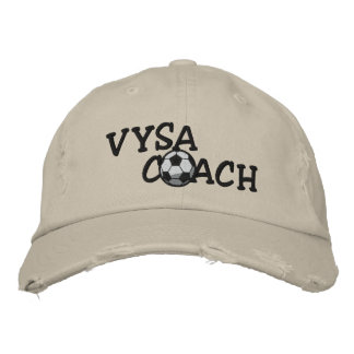 VYSA Coach Hat Embroidered Baseball Caps