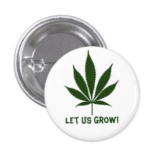 W01 Let Us Grow! 3 Cm Round Badge