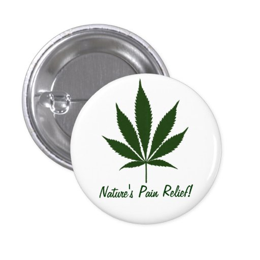W01 Nature's Pain Relief Button