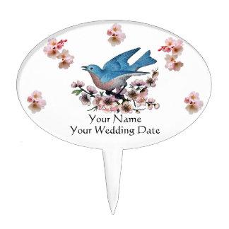 W01 Wedding Favor Cake Pick