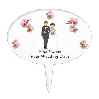 W02 Wedding Favor Cake Pick