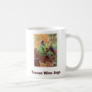 W063 copy, Tuscan Wine Jugs, BeBeau Creations, PUE Coffee Mugs