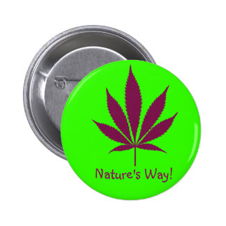 "W24 ""Nature's Way!"" Button"
