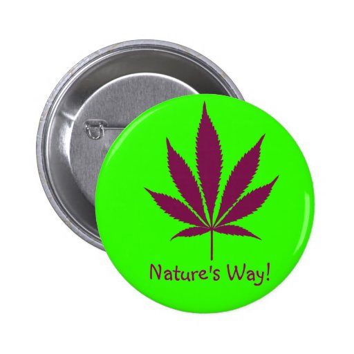 """W24 """"Nature's Way!"""" Button"""