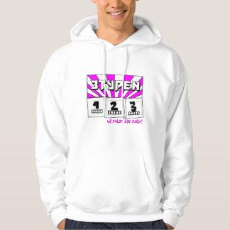 W3 rul0r j00 sux0r! hoodie