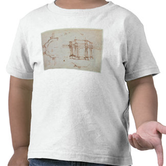 W.24r Architectural sketch T Shirts