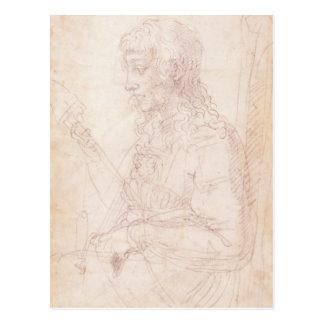 W.40 Sketch of a female figure Postcard