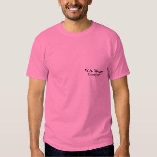 W.A. Mozart Composer - Men's T-shirt