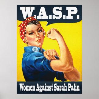 W.A.S.P. - Women Against Sarah Palin Print