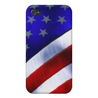 w/ AMERICAN FLAG Covers For iPhone 4