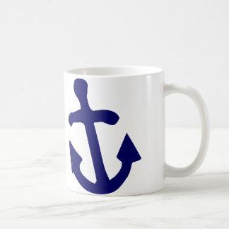 W Anchor Coffee Mug