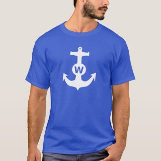 W Anchor Wanchor Insult Funny Gift T-Shirt