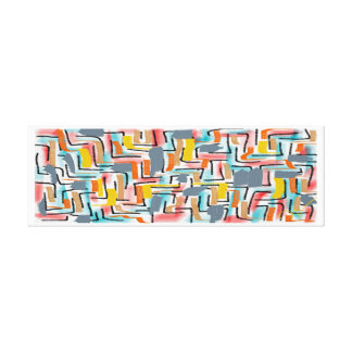 w-artistic two stretched canvas print
