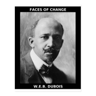 W.E.B. DUBOIS POSTCARD
