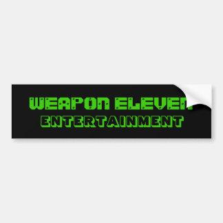 W.E.E. Bumper Sticker
