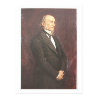 W.E. Gladstone by Millais Postcard