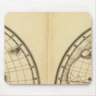 W Hemisphere, E Hemisphere 2 Mouse Pad