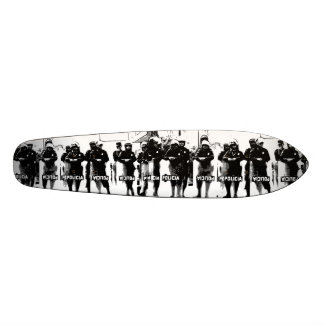 W.M. Longboard Skateboard Deck - Policia Edition