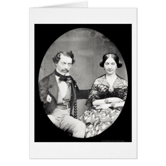 W. & Mary Field Daguerreotype 1858 Card