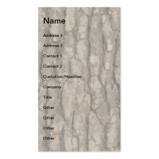 W Monogram Dark Bark 2 Painterly Business Card Templates