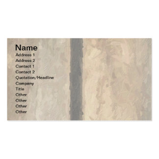 w Monogram Vertical Boards Business Cards