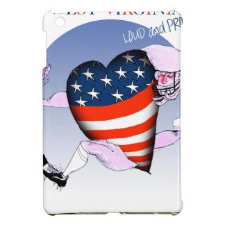 w virginia loud and proud,tony fernandes iPad mini cover