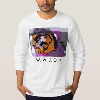 W. W. J. D. ?  VOTE FOR OBAMA T-SHIRT