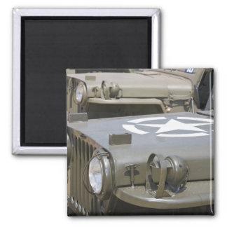 WA, Arlington, Arlington Fly-in, World War II 4 Square Magnet