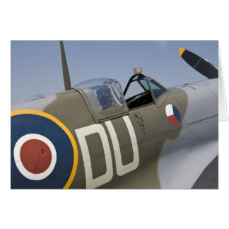 WA, Arlington, Arlington Fly-in, World War II 5 Greeting Card