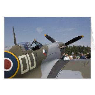 WA, Arlington, Arlington Fly-in, World War II 6 Greeting Card