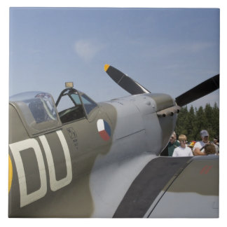 WA, Arlington, Arlington Fly-in, World War II 6 Large Square Tile