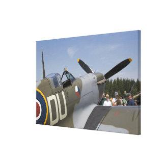 WA, Arlington, Arlington Fly-in, World War II 6 Stretched Canvas Prints