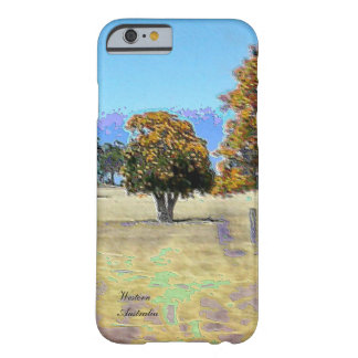 WA Australia slim lightweight iPhone 6 case Barely There iPhone 6 Case